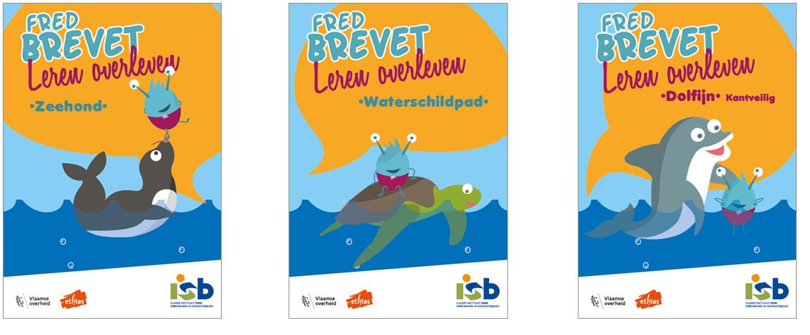 Leren Overleven (Zwembrevetten) - Fred Brevet