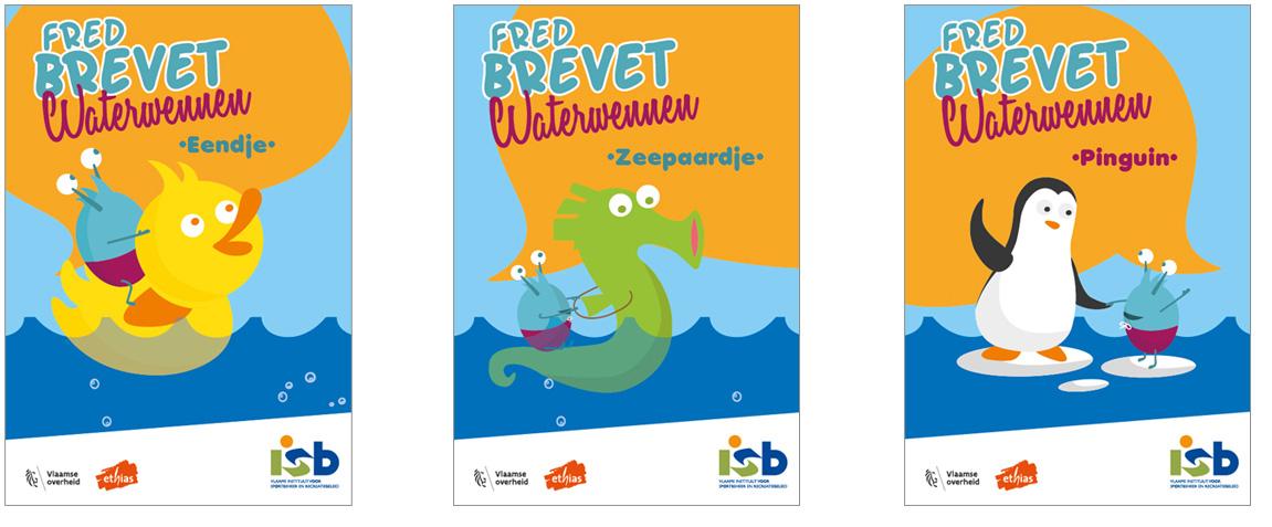 Waterwennen (Zwembrevetten) - Fred Brevet